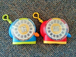 "Lot Of (2) 2002 Fisher Price View Master Toys With Clip Ons "" GREAT TOYS "" - $24.99"