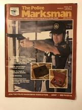 Winter1979 THE POLICE MARKSMAN Gun Magazine - - $14.03