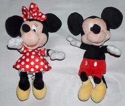 """Disney Negozio Minnie & Mickey Mouse 10 """" Peluche Wobbly Testa Giocattolo - $19.77"""