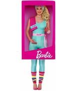 Barbie 3D Box Costume, Womens Fancy Dress, One Size #DE - $62.57