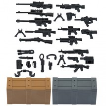 Custom Minifigures Military Army Guns Weapons Compatible w/ Lego Sets Mi... - $9.99