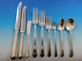 Georgian Colonial by Wallace Sterling Silver Dinner Flatware Set Service 108 Pcs - $6,995.00