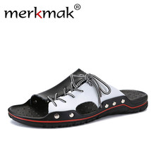 Brand Luxury Beach Comfortable Casual Merkmak Big Men Soft For Slippers Size 48 05wR4qwd