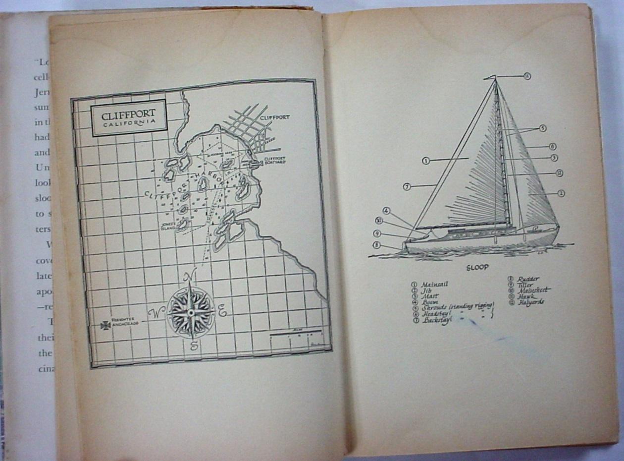 Sandy Steele Adventure no. 6 Roger Barlow Simon & Schuster hcdj 1st Printing