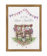Design Works Wedding Chairs Counted Cross-Stitch Kit - $14.65