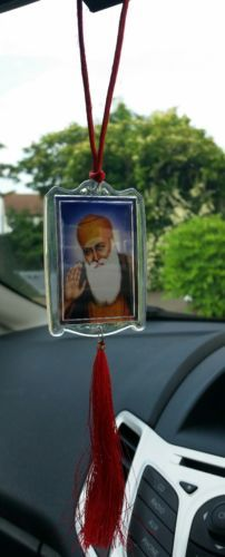 Unisexe Sikh Guru Nanak Gobind Singh Ji KHANDA Eik Onkar Pendentif NOËL CADEAUX