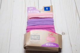 Hanes Tagless Girl Shorts Underwear Panties Small 3 Pairs Cotton Blend - $3.96