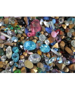 300 Pc.LOT/NEW GLASS GEMSTONES For CRAFTING/HIGH Quality-U.S SELLER FAST... - $10.63