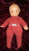 "Vtg Kewpie Composition Side Glance Kewpie Doll 13"" w/ Nitey Nite Pajamas... - $121.08"