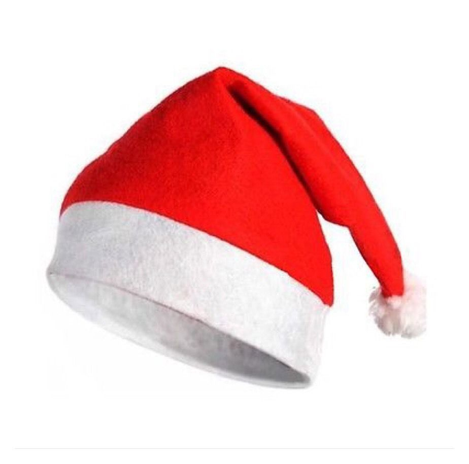 Christmas Hat Santa Claus Holiday Xmas Clays Hat Cap Wear AE1