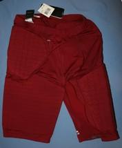 NWT Mens Adidas Padded Basketball Short 2XT Cardinal Clima 365 Techfit Climacool - $32.64
