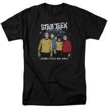 Explore Strange New Worlds t-shirt Star Trek anime graphic tee CBS1735 image 1