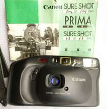 LikeNEW Canon Sureshot Joy Prima 4 Film Camera Point And Shoot Mint sure... - $24.99