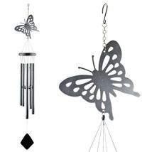 Shadow Butterfly Metal Wind Chime - $19.98
