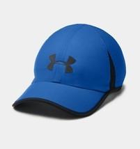 NEW! Under Armour Mens Shadow 4.0 Heatgear Adjustable Cap-Blue - $42.21