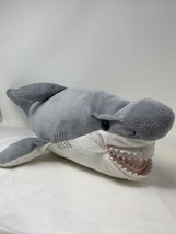 "Wildlife Artists Plush Grey White Shark 24"" Stuffed an Animal Toy 2018 - $13.99"