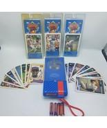 Vintage Sports Talk Player - Working + 17 Loose Cards & 3 Sealed Packs #... - $39.95
