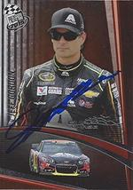 AUTOGRAPHED Jeff Gordon 2015 Press Pass Racing Cup Chase Edition (#24 Axalta Tea - $53.99