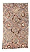"Kilim semi antique Turkish rug 5'9""x10'2"" (176x310 cm) Oriental Carpet - $1,149.00"