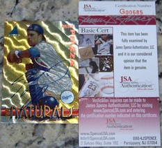 SALE! Mike Piazza Signed Autographed Auto Baseball Card JSA COA 100% Aut... - $98.01