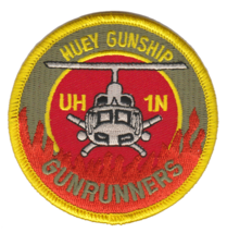 USMC HMLA-269 GUNRUNNERS UH-1N HUEY GUNSHIP PATCH - $11.87