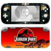 Nintendo Switch Lite Console Skin Decals Stickers Vinyl Jurassic Park Dinosaur - $9.21