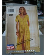 Butterick See & Sew 4375 Misses Dress Pattern - Size 6/8/10 Bust 30.5 to... - $8.90