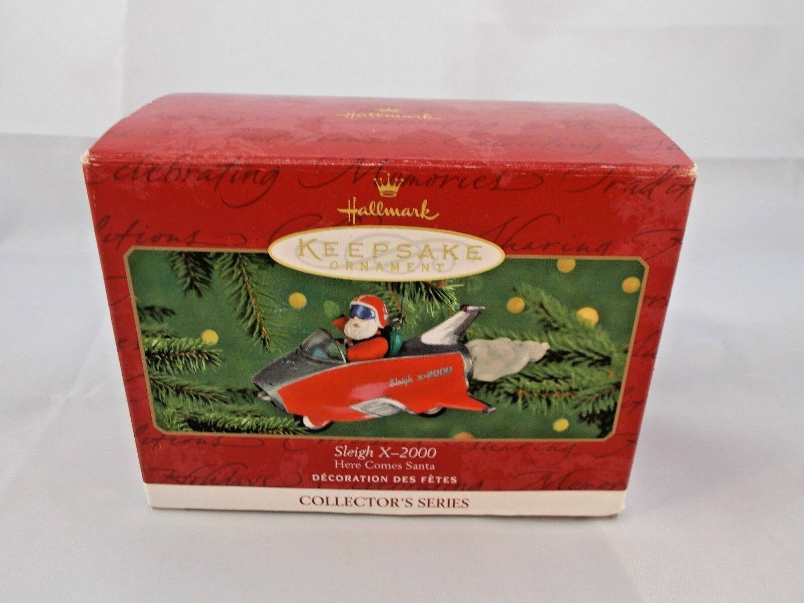 Primary image for Hallmark Keepsake Sleigh X-2000 Here Comes Santa Tree Ornament Christmas