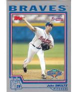 John Smoltz ~ 2004 Topps Opening Day #20 ~ Braves - $0.50