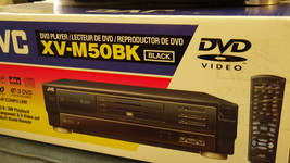 Discover and love the JVC XV-M50BK Multi DVD Player..it's New! - $39.99