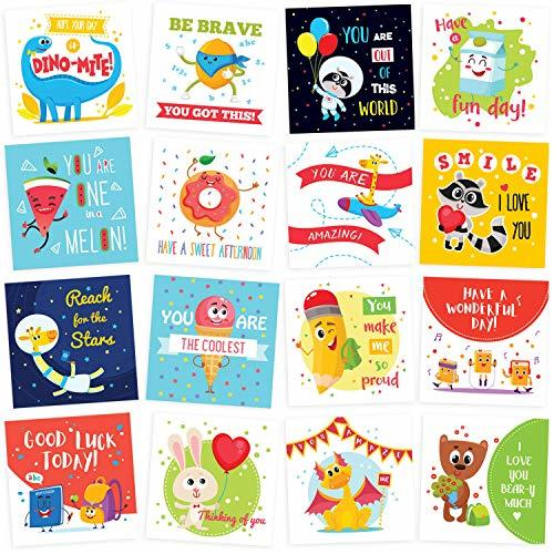 Lunch Box Notes for Kids - 60 Cute Inspirational and Motivational Thinking of Yo