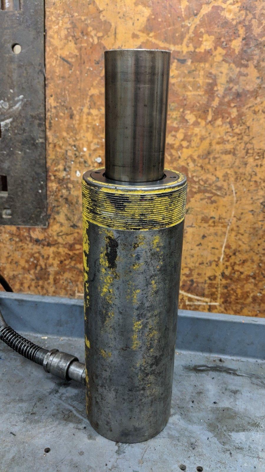 "ENERPAC RCH-306 Hydraulic Hollow Cylinder, 30 tons, 6-1/8"".Stroke"