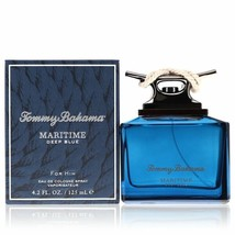 Tommy Bahama Maritime Deep Blue Eau De Cologne Spray 4.2 Oz For Men  - $62.90