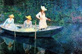 Women fishing by Claude Monet - Art Print - $19.99+