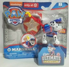 Spin Master Paw Patrol Ultimate Rescue Marshall Toy Police Nickelodeon 2017 New - $24.24