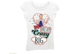 Jojo Siwa Girls 'Dream Crazy Big' Short Puff Sleeve Graphic T-Shirt Size... - $15.99