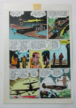 "1986 ""World of Wood"" 3 page 4 Original Eclipse comic book color guide ar... - $99.50"