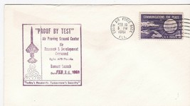 PROOF BY TEST BOMARC LAUNCH EGLIN AIR FORCE BASE FL FEBRUARY 16 1961 - $2.98