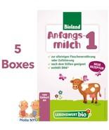 Holle Lebenswert Stage 1 Organic Baby Formula 5 Boxes 500g Free Shipping - $102.95
