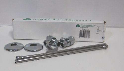 McGuire Mfg 2165LK Lavatory Supply Kit Chrome Plated Loose Key