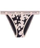 Calvin Klein Women`s CK One Cotton Brazilian Tanga, Khaki / Camo, Small - $19.79