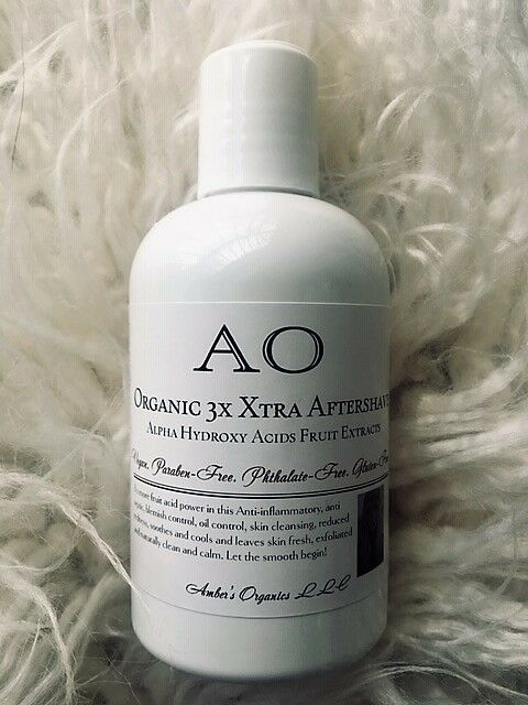 Primary image for Organic 3 x Xrta AHA Aftershave Alpha Hydroxy Acids - slough, tone & re-balance.