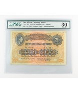 1942 East Africa 20 Shillings or 1 Pound (VF-30 PMG) Currency Board £ P-30A - $1,329.95