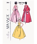 """PDF pattern for 3 Barbie 11.5"""" size Evening Gowns #3574 Print at home - $4.50"""