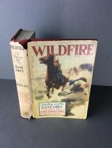 Zane Grey Wildfire 1916 Antique Book Romance Western Adventure Novel Wild Horses - $13.40