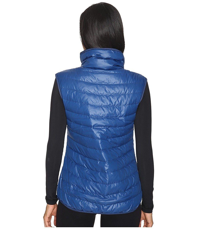 5178fc5452c0 Nike Womens Down Vest NWT Size XS Blue Black 805257-423 NEW  130 NWT