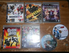 7-lot playstation 3 games see description in good shape used - $19.79