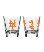 NEW YORK NY METS MLB 2 OZ GAME DAY SHOT GLASS BY BOELTER FREE SHIP - $7.97