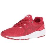 ASICS Men's Gel-Kayano Trainer Evo Fashion Sneaker, Red/Red, 11 M US - $99.99