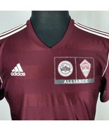 Colorado Rapids Adidas Climalite Mens Med Maroon Burgundy Soccer Jersey - $29.99